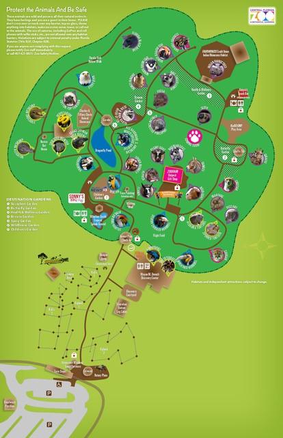 Map Central Florida.Cfz Home Page Central Florida Zoo Botanical Gardens